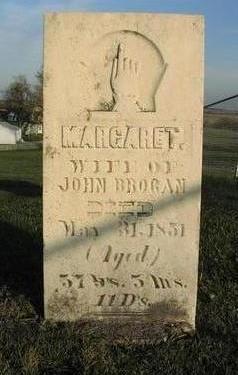 BROGAN, MARGARET - Muscatine County, Iowa | MARGARET BROGAN