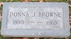 BROWNE, DONNA J. - Muscatine County, Iowa   DONNA J. BROWNE