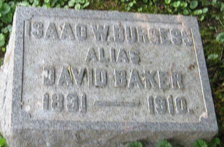 BAKER, DAVID - Muscatine County, Iowa | DAVID BAKER