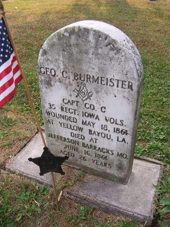 BURMEISTER, CAPT. GEORGE C. - Muscatine County, Iowa | CAPT. GEORGE C. BURMEISTER