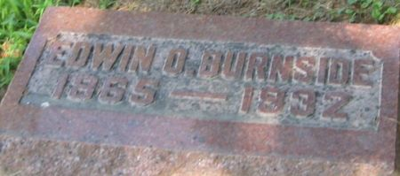 BURNSIDE, EDWIN O. - Muscatine County, Iowa   EDWIN O. BURNSIDE