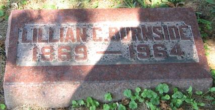 BURNSIDE, LILLIAN C. - Muscatine County, Iowa | LILLIAN C. BURNSIDE
