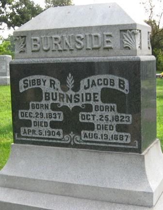 BURNSIDE, JACOB B. - Muscatine County, Iowa | JACOB B. BURNSIDE