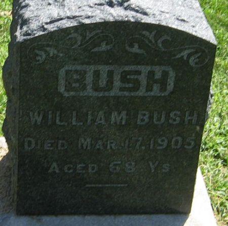 BUSH, WILLIAM - Muscatine County, Iowa | WILLIAM BUSH