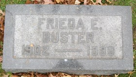 SABBATH BUSTER, FRIEDA ESTHER LOUISE - Muscatine County, Iowa | FRIEDA ESTHER LOUISE SABBATH BUSTER