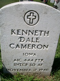 CAMERON, KENNETH DALE - Muscatine County, Iowa   KENNETH DALE CAMERON