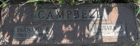 CAMPBELL, BERNARD R. - Muscatine County, Iowa | BERNARD R. CAMPBELL