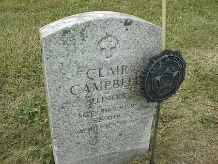 CAMPBELL, CLAIR - Muscatine County, Iowa | CLAIR CAMPBELL