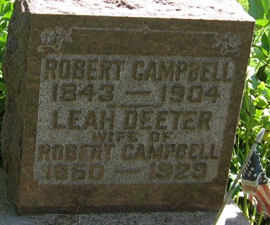 DEETER CAMPBELL, LEAH - Muscatine County, Iowa | LEAH DEETER CAMPBELL