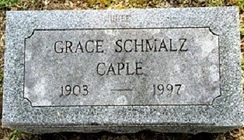CAPLE, GRACE LILLIAN - Muscatine County, Iowa | GRACE LILLIAN CAPLE