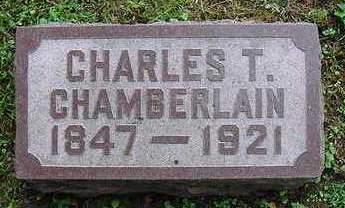 CHAMBERLAIN, CHARLES - Muscatine County, Iowa | CHARLES CHAMBERLAIN