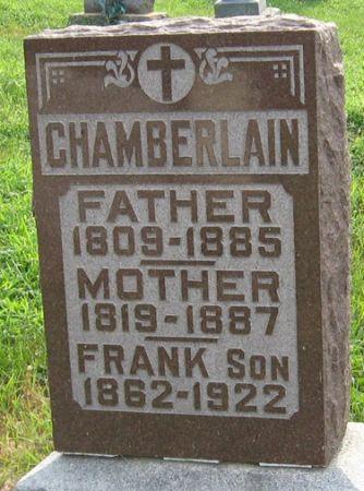 CHAMBERLAIN, FRANK - Muscatine County, Iowa | FRANK CHAMBERLAIN