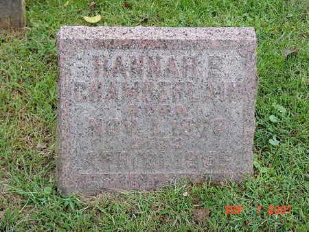 FUHLMAN CHAMBERLAIN, HANNAH - Muscatine County, Iowa | HANNAH FUHLMAN CHAMBERLAIN