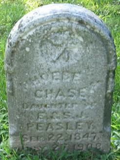 PEASLEY CHASE, PHOEBE - Muscatine County, Iowa | PHOEBE PEASLEY CHASE