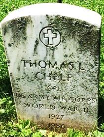 CHELF, THOMAS LEROY - Muscatine County, Iowa | THOMAS LEROY CHELF
