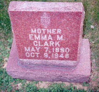 PHILLIPS CLARK, EMMA - Muscatine County, Iowa   EMMA PHILLIPS CLARK
