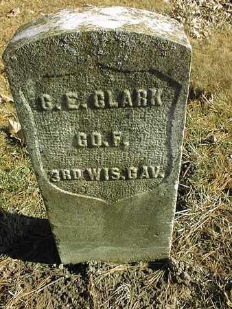 CLARK, G.E. - Muscatine County, Iowa   G.E. CLARK