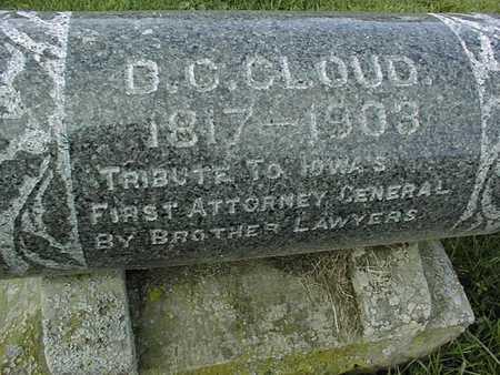 CLOUD, D.C. - Muscatine County, Iowa | D.C. CLOUD