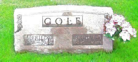 COLE, RICHARD - Muscatine County, Iowa | RICHARD COLE