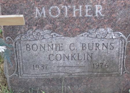 CONKLIN, BONNIE C. - Muscatine County, Iowa   BONNIE C. CONKLIN