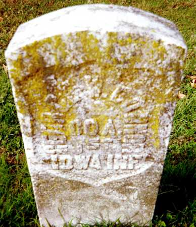 CONNOR, GEORGE - Muscatine County, Iowa   GEORGE CONNOR