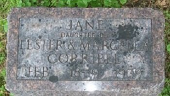 CORRIELL, JANE - Muscatine County, Iowa | JANE CORRIELL
