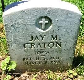CRATON, JAY MILTON - Muscatine County, Iowa | JAY MILTON CRATON