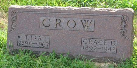 CROW, GRACE D. - Muscatine County, Iowa | GRACE D. CROW