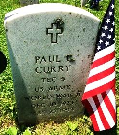 CURRY, PAUL C. - Muscatine County, Iowa | PAUL C. CURRY
