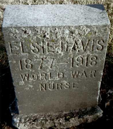 DAVIS, ELSIE - Muscatine County, Iowa | ELSIE DAVIS