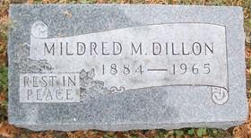 DILLON, MILDRED M. - Muscatine County, Iowa | MILDRED M. DILLON