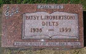 ROBERTSON DILTS, PATSY L.