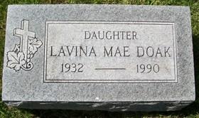 DOAK, LAVINA MAE - Muscatine County, Iowa | LAVINA MAE DOAK