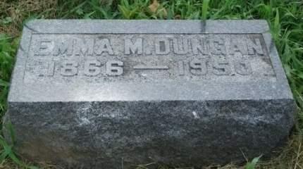DUNGAN, EMMA M. - Muscatine County, Iowa | EMMA M. DUNGAN