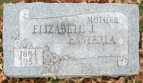 BOEHL EASTERLA, ELIZABETH JOHANNA - Muscatine County, Iowa | ELIZABETH JOHANNA BOEHL EASTERLA