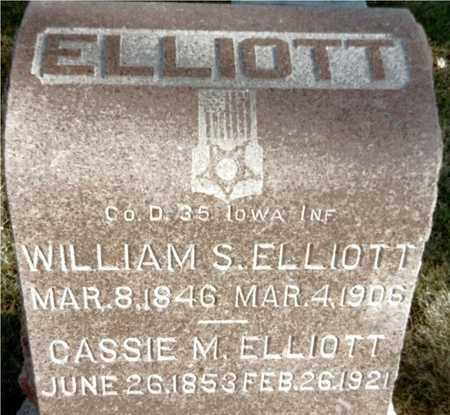 ELLIOTT, CASSIE M. - Muscatine County, Iowa | CASSIE M. ELLIOTT
