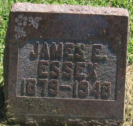 ESSEX, JAMES E. - Muscatine County, Iowa   JAMES E. ESSEX