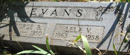 EVANS, LELA V. - Muscatine County, Iowa | LELA V. EVANS
