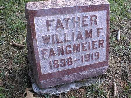 FANGMEIER, WILLIAM F. - Muscatine County, Iowa   WILLIAM F. FANGMEIER