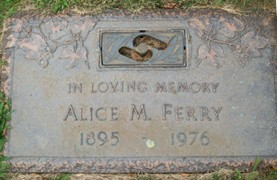 KOEPPING FERRY, ALICE M. - Muscatine County, Iowa   ALICE M. KOEPPING FERRY