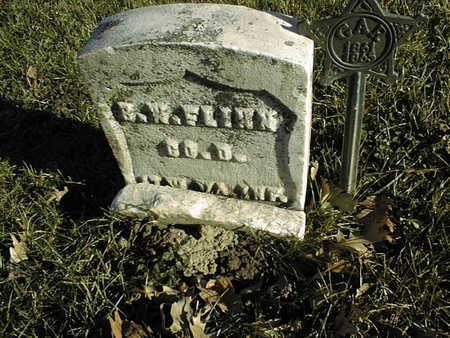 FLINN, BENJAMIN W. - Muscatine County, Iowa | BENJAMIN W. FLINN
