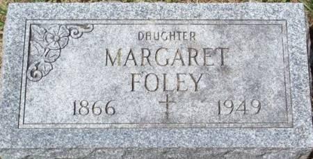 FOLEY, MARGARET - Muscatine County, Iowa   MARGARET FOLEY