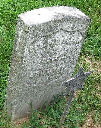 FORDHAM, GEO. W. - Muscatine County, Iowa   GEO. W. FORDHAM