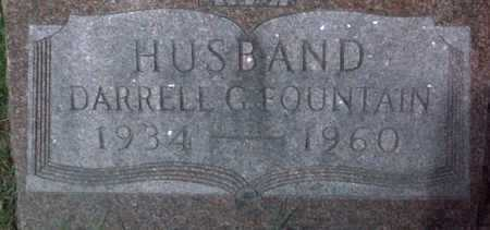 FOUNTAIN, DARRELL  G. - Muscatine County, Iowa | DARRELL  G. FOUNTAIN