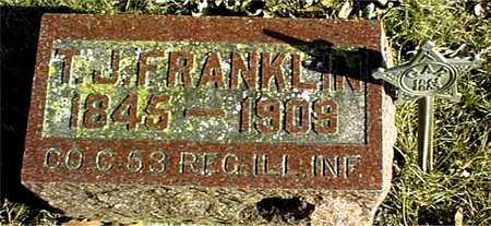 FRANKLIN, T.J. - Muscatine County, Iowa | T.J. FRANKLIN