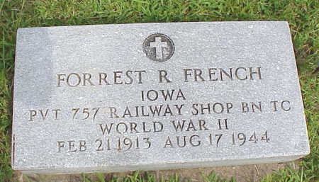 FRENCH, FORREST - Muscatine County, Iowa | FORREST FRENCH