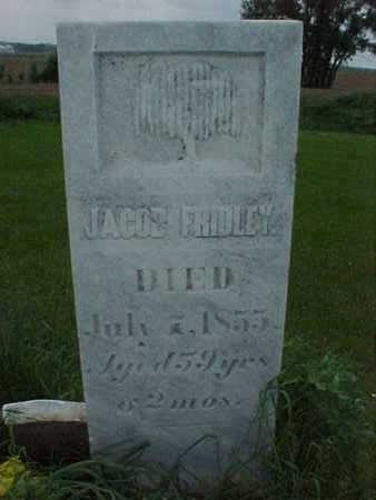 FRIDLEY, JACOB - Muscatine County, Iowa   JACOB FRIDLEY