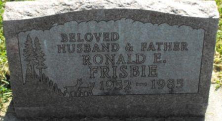 FRISBIE, RONALD E. - Muscatine County, Iowa   RONALD E. FRISBIE