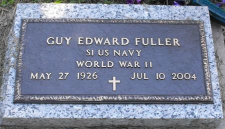 FULLER, GUY EDWARD - Muscatine County, Iowa | GUY EDWARD FULLER