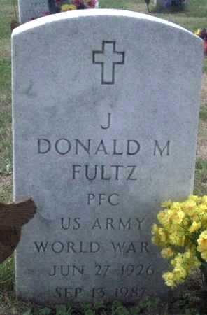 FULTZ, DONALD  M. - Muscatine County, Iowa | DONALD  M. FULTZ